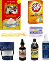 baking soda etc