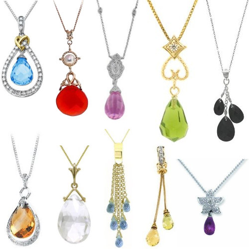 of one swoonery charms kind en and gurhan necklace shop pendant pendants tourmailne briolette catalog ruby a