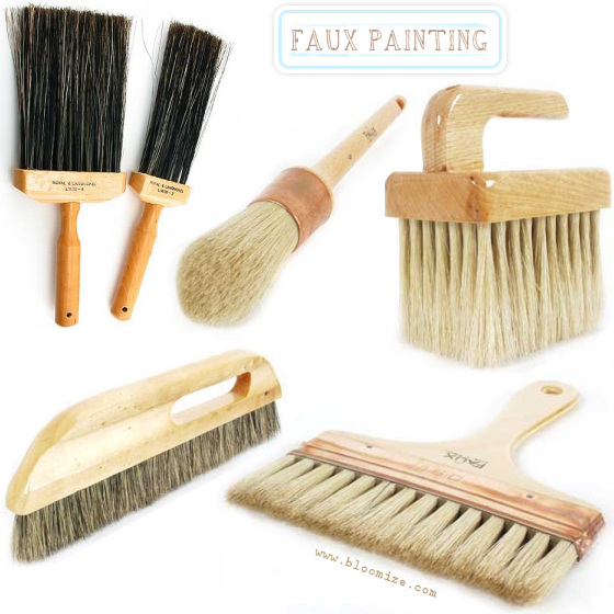 faux painting brush etc bloomize