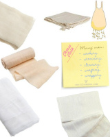 cheese cloth etc