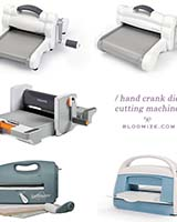 die cutting machine etc