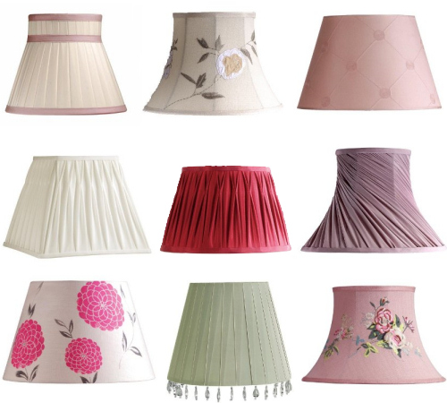 Lamp shades by Laura Ashley ⇆ bloomize