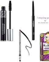smudge proof mascara and eyeliner etc