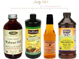 nut oil etc