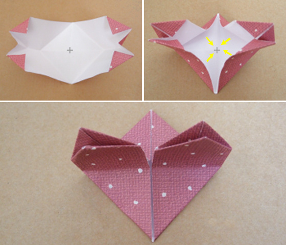 How to fold origami money heart with coin star. Easy and simple ... | 480x560