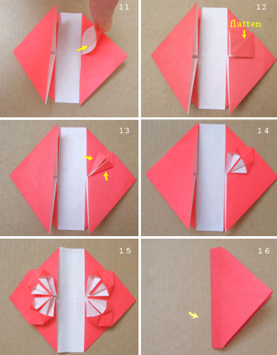 HOW TO MAKE ORIGAMI BLOSSOM HEARTS. — Gathering Beauty | 717x560