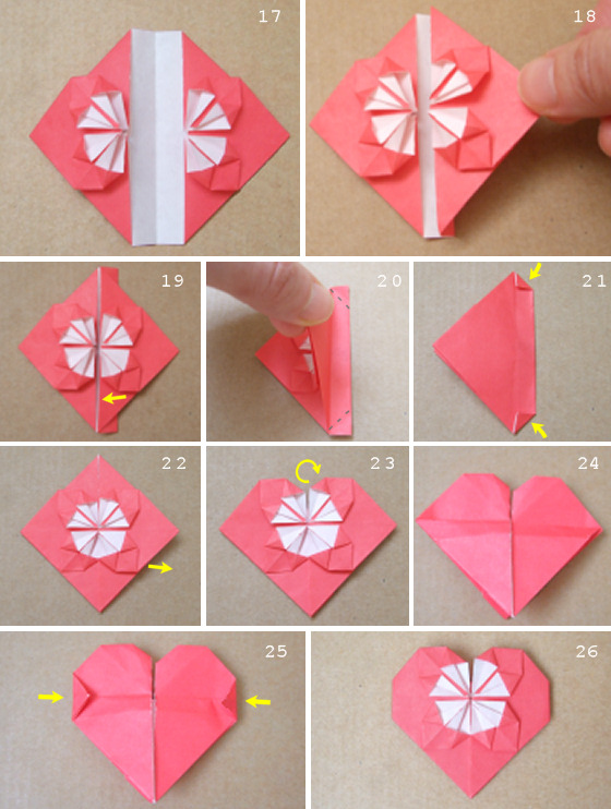 How to Make an Origami Heart From a Dollar - Snapguide | 742x560