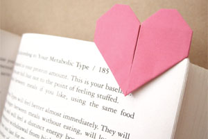heart page marker