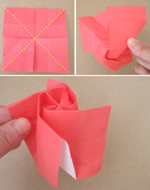 How to make a standard origami rose paper flower how to make a standard origami rose paper flower mightylinksfo