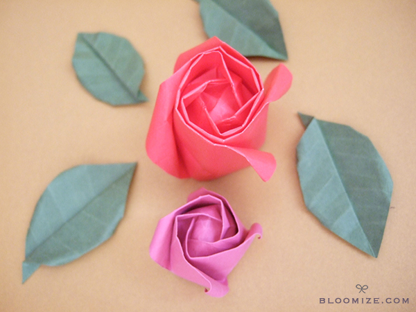 Origami Roses Bloomize