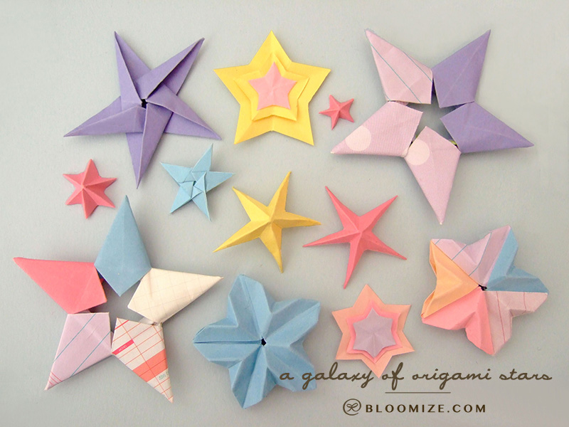 DIY Craft List: Origami Stars