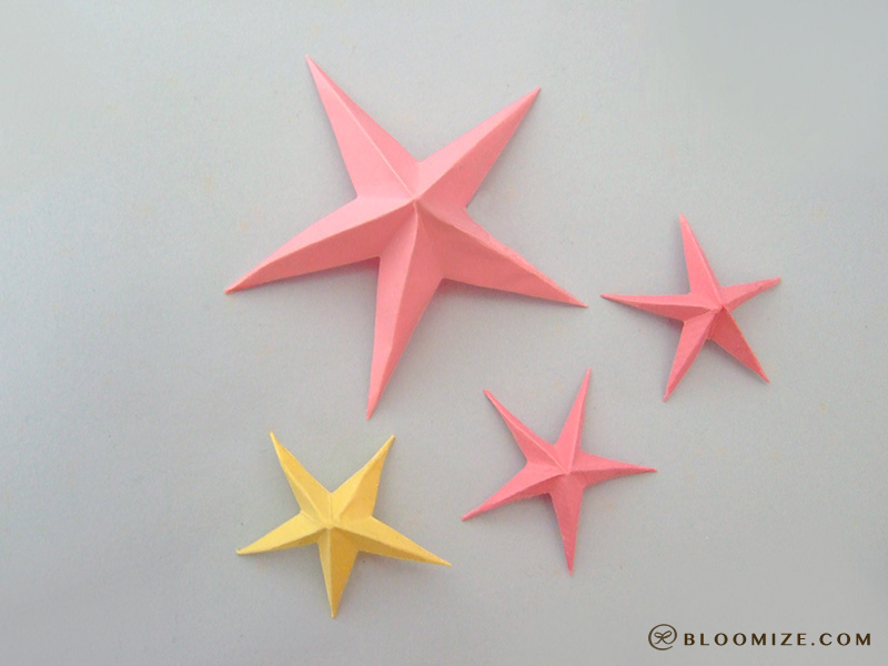 How To Fold Origami Straw Lucky Stars Origami | Party Invitations ...