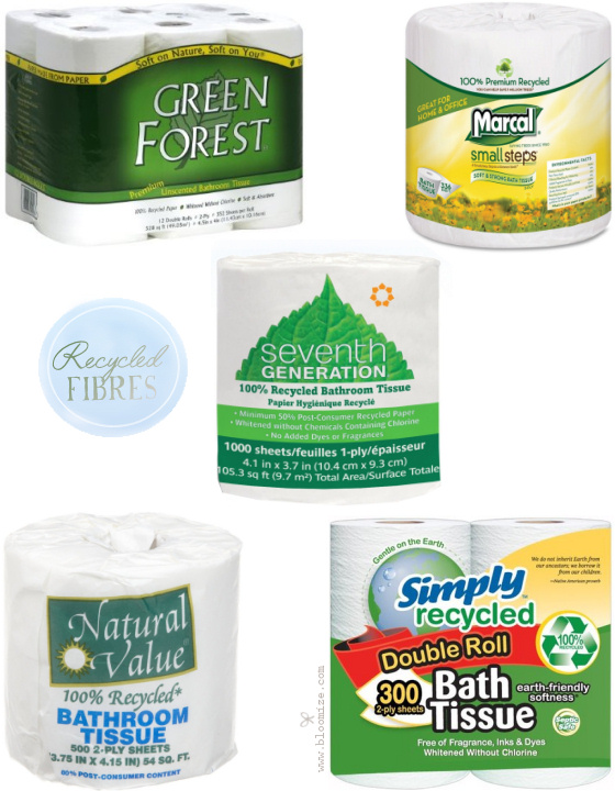 Eco Chic Recycled Bath Tissues ⇆ Bloomize