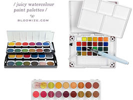 watercolour paint etc 2